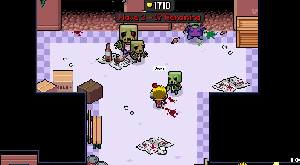 zombie grinder wave