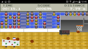 Retro Basketball Gameplay